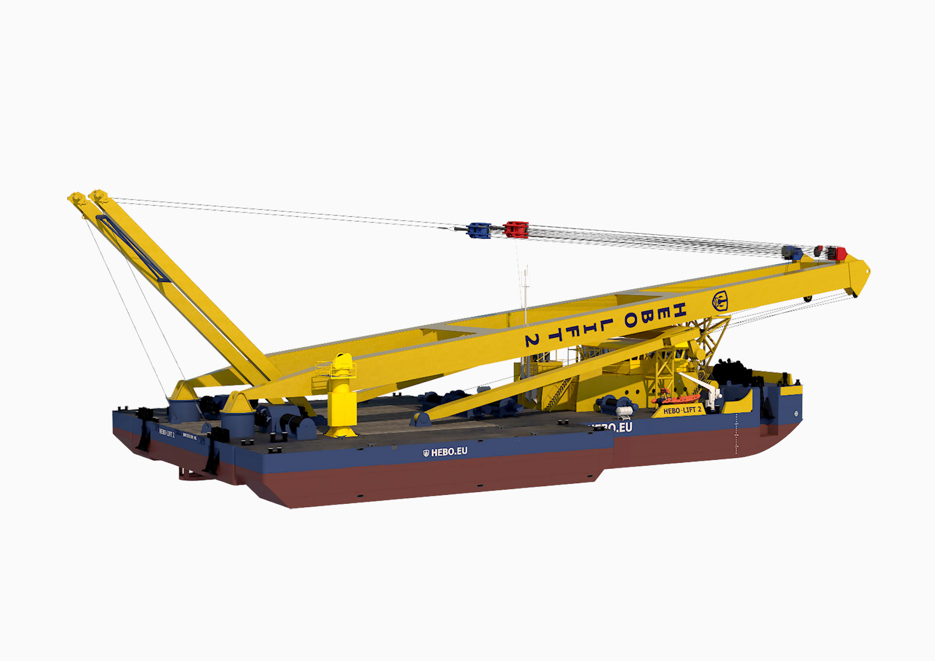Image of Render of the Hebo Lift 2